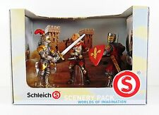 Schleich 3 Pack Collection Red Knights of Medieval Times Action Figure