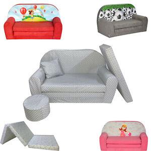 AUSVERKAUF Kindersofa Kindersessel Kindermöbel Sofa Klappmatratze FORTISLINE