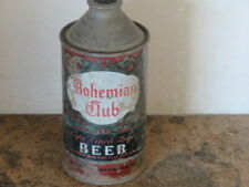 Bohemian Club. Beer. Solid. Colorful. Cone Top