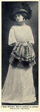 Maison GRUNWALDT blanche veulent robe mon chien et craint de chinchilla 1908