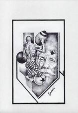 CAPRICHOS DEL FUEGO Original Art Drawing Cuba Cuban FERNANDO GODERICH FABARS 18