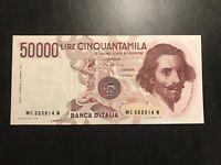 50000 LIRE BERNINI 1 Tipo lettera C 01/12/1986 FDS - Italy Banknote UNC