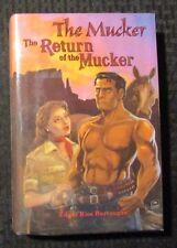 2010 THE MUCKER & Return of Edgar Rice Burroughs HC/DJ VF+/VF- Signed Dum-Dum