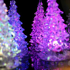 LED Christmas Tree Night Lights Lamp Xmas Home Decor Party Decoration Ornament B