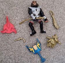 """92 Star Trek Next Gen GOWRON Klingon 5"""" Figure & 82 Corgi die cast bird of prey"""