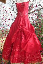 SALE, SALE! QUINCEANERA, PROM DRESS  FORMAL GOWN BY PC MARY  SIZE 14