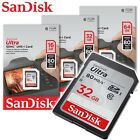 SanDisk Ultra Class10 UHS-I SD 80MB/s 16GB 32GB 64GB SGHC / SD XC memory card