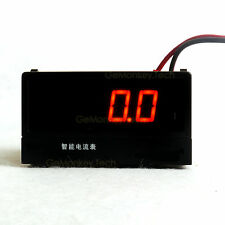 Programmable AMP Current Meter Red LED AC/DC 5A  1A 100mA 75mV