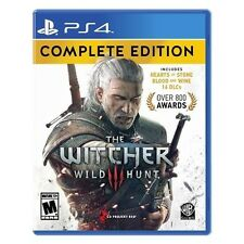 The Witcher 3 Wild Hunt Complete Edition - PlayStation 4 PS4 NEW
