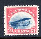 Unused VF US 1918 Airmail Jenny Scott C3, Undisturbed OG MNH, Very Fresh