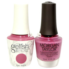 Harmony Gelish LED/UV Soak Off 0.5oz GelColor Duo 859- It_s A Lily