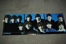 "Vintage 1988 Beatles History Poster Banner 26""x74"" BL145 Litho Dallas A Saunders"