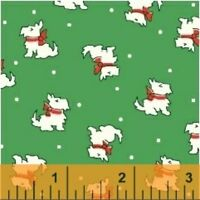 Windham Storybook Christmas 30s Repro Quilt Fabric Fat Quarter