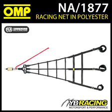 NA/1877 OMP RACING PROFESSIONAL TOP LEVEL SAFETY NET WITH QUICK RELEASE