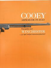 SCARCE VINTAGE SPANISH LANGUAGE COOEY WINCHESTER 4 PAGE BROCHURE.