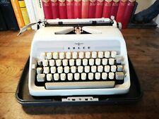 Vintage 1960s Typewriter ~ Adler Junior - E, Needs attention, spares or repair