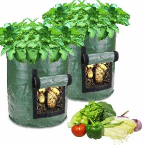 Potato Grow Bags Container Garden Vegetable Fabric Planter Planting Pots Sack UK