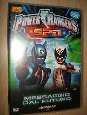 DVD VOL 7 POWER RANGERS S.P.D. SPD MESSAGGIO DAL FUTURO