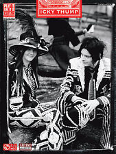 THE WHITE STRIPES ICKY THUMP GUITAR TAB SONG BOOK NEW