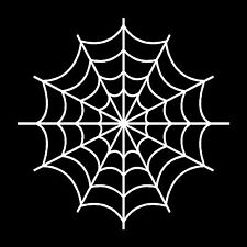 Spider Web Vinyl Car Window Decal Bumper Sticker
