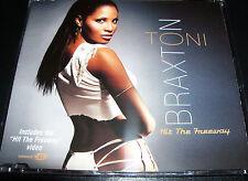 Toni Braxton Hit The Freeway Rare Australian Enhanced CD Single - Like New