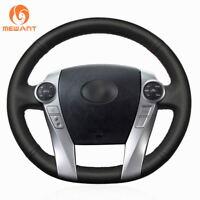 DIY Leather Steering Wheel Cover for Toyota Prius 30(XW30) C V Aqua #FT85
