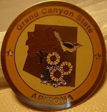 Arizona Grand Canyon State new badge mount stocknagel hiking medallion G4939