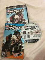 NFL Street 1 Sony Playstation 2 PS2 Complete CIB