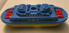 Renwal Ferry Boat Hard Plastic No. 140 Usa with Wheels Vintage