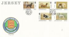Jersey 1988 Orchids II FDC Unaddressed VGC