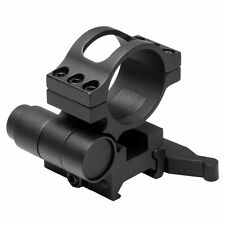 NcStar MAGFL Flip To Side 30mm Scope Mount w/Quick Release Picatinny Weaver Rail