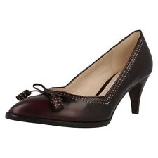 Clarks Composition Leather Slim Heels for Women