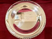 280 gm Towle Sterling Silver 925 Plate Charger 9 Inch MONO