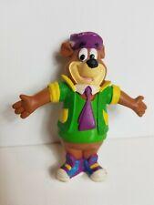 "Vintage 1992 Yo Yogi Bear Bend Ems JusToys Figure 90s Bendable Poseable Toy 5"""