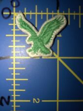 American Eagle Logo Patch Light Green White Flying Bird Hawk Falcon Clothing USA