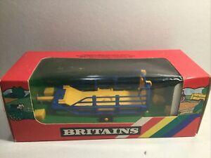 Britains 9557 Bale Sludge Trailer Mint Within Its Original Box