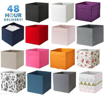 4 X IKEA DRONA Box Fabric Storage Expedite Kallax Shelving Toys Books 15 COLORS