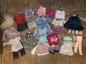 Huge Lot of American Girl Doll Clothes, Shoes & Accessories
