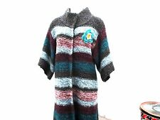 ladies-colourful-knitted-coat-size-medium