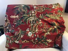 Pottery Barn Standard Pillow Sham Beautiful Red And Gold Pattern