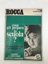 ROCCA #19 Italian Magazine 1960s RARE Italy VINTAGE ADS Romano Guardini