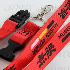 Mugen Lanyard Keychain Quick Release Key Chain Strap HONDA ACCORD CIVIC - Red