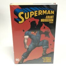 Superman by Grant Morrison Omnibus New Dc Comics Hc Hardcover Sealed New 52