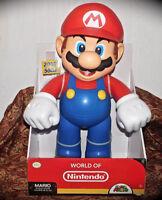 "World of Nintendo GIANT 20"" inch Super Mario Posable Figure Jakks Pacific NEW"