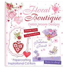 Debbi Moore Designs Floral Boutique CD Rom (324767)