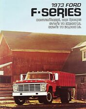 1973 Ford F-Series Conventional Cab Crew Cab Truck Sales  Brochure