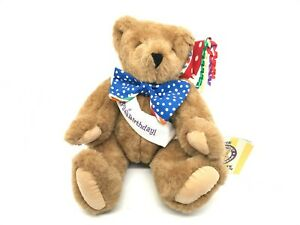 """Vermont Teddy Bear Company Complete Companion Happy Birthday Jointed Bear 15"""""""