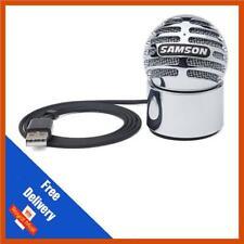 Micrófono Condensador Samson meteorito portátil USB