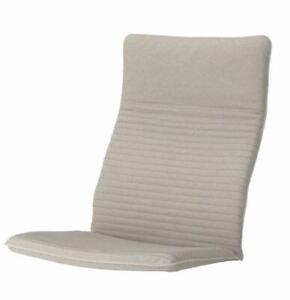 IKEA POANG Chair Cushion Knisa Light Beige Armchair Seat Pad POÄNG NEW