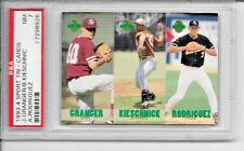 PSA 7 ALEX RODRIGUEZ N.Y. YANKEES 1993 1/65600 Appleton foxes RC baseball card